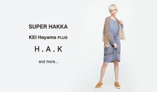 SUPER HAKKA/H.A.K and more...のセールをチェック