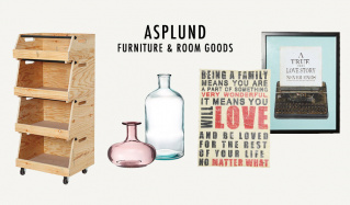 ASPLUND FURNITURE & ROOM GOODSのセールをチェック