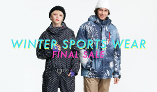 FINAL SALE -WINTER SPORTS WEAR-のセールをチェック