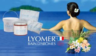 LYOMER フランス産岩塩と精油の100%ナチュラルバスパウダー(リヨメール)のセールをチェック