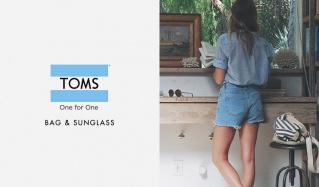 TOMS BAG & SUNGLASS(トムス)のセールをチェック