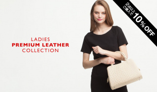 LADIES PREMIUM LEATHER COLLECTIONのセールをチェック