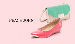 PEACH JOHN BAG & SHOES(ピーチ・ジョン)のセールをチェック