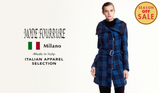 MODE FOURRURE ITALIAN APPAREL SELECTION_SEASON OFF SALE(モードフルーレ)のセールをチェック