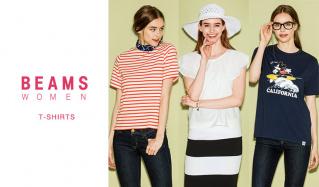 BEAMS WOMEN'S T-SHIRTS(ビームス)のセールをチェック