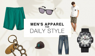 MEN'S APPAREL-for DAILY STYLE-のセールをチェック