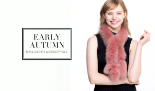 EARLY AUTUMN FUR & LEATHER ACCESSORY SALEのセールをチェック
