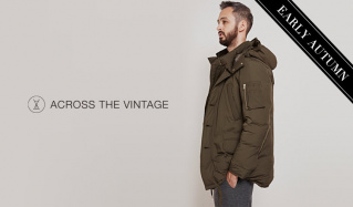 ACROSS THE VINTAGE MEN_EARLY AUTUMNのセールをチェック