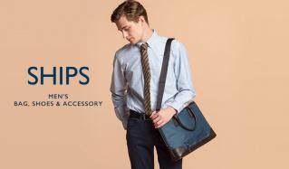 SHIPS MEN'S BAG & SHOES & ACCESSORY(シップス)のセールをチェック