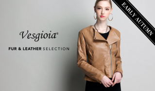 VESGIOIA FUR & LEATHER  SELECTION_EARLY AUTUMNのセールをチェック