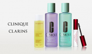 CLINIQUE/CLARINS(クリニーク)のセールをチェック