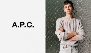 A.P.C.MENのセールをチェック
