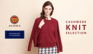 CASHMERE KNIT SELECTIONのセールをチェック
