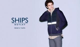 SHIPS OUTLET MEN'S TOPSのセールをチェック