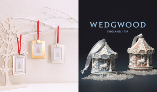 WEDGWOOD-テーブルウェア & クリスマスオーナメント-(ウェッジウッド)のセールをチェック