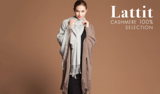 LATTIT -CASHMERE 100% SELECTION-のセールをチェック