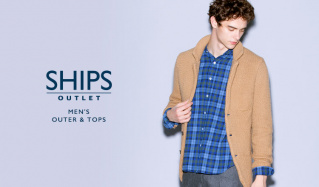 SHIPS OUTLET MEN'S OUTER & TOPSのセールをチェック