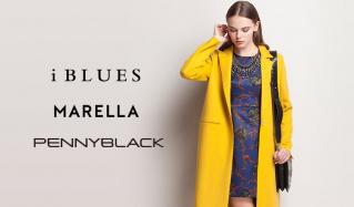 I BLUES/MARELLA/PENNYBLACKのセールをチェック