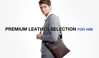 PREMIUM LEATHER SELECTION FOR HIMのセールをチェック