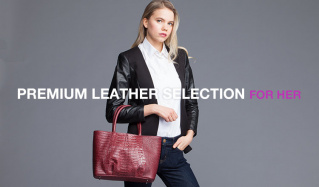 PREMIUM LEATHER SELECTION FOR HERのセールをチェック