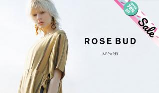 ROSE BUD_OVER 70%OFF_APPAREL(ローズ バッド)のセールをチェック