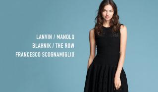 LANVIN/MANOLO BLAHNIK/THE ROW/FRANCESCO SCOGNAMIGLIOのセールをチェック