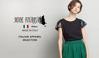 MODE FOURRURE -ITALIAN  Tシャツ特集(モードフルーレ)のセールをチェック