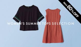 WOMEN'S SUMMER TOPS SELECTION(ダーマ)のセールをチェック