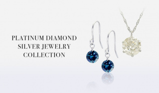 PALATINUM DIAMOND SILVER JEWERY COLLECTIONのセールをチェック