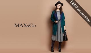 MAX & CO._EARLY AUTUMN & WINTER(マックスアンドコー)のセールをチェック