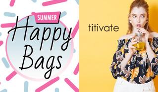 TITIVATE_HAPPY BAG_APPAREL(ティティベイト)のセールをチェック
