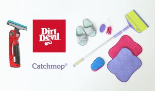 短時間で楽々お掃除 DIRT DEVIL&CATCH MOP(ダートデビル)のセールをチェック