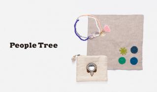 PEOPLE TREE-GOODS & ACCESSORY-(ピープルツリー)のセールをチェック