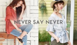NEVER SAY NEVER(ネバーセイネバー)のセールをチェック