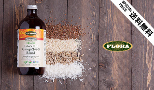 Udo's Oil Omega 3+6+9 blend(フローラ)のセールをチェック