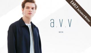 a.v.v Men_EARLY AUTUMN & WINTER(アーヴェヴェ)のセールをチェック