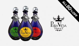 シャンパン酵母を使った 唯一無二のプレミアムテキーラ PURAVIDA(プラビダ)のセールをチェック