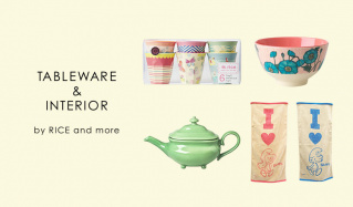 TABLEWARE & INTERIOR BY RICE & MOREのセールをチェック