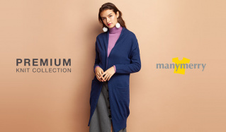 PREMIUM KNIT SELECTION - MANYMERRY -のセールをチェック