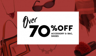OVER70%OFF  -ACCESSEORY & BAG & SHOES-のセールをチェック