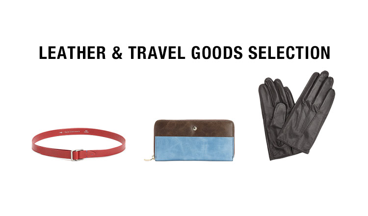 LEATHER & TRAVEL GOODS SELECTON