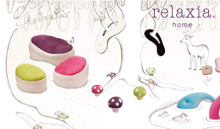 RELAXATION CUSHIONS by relaxia