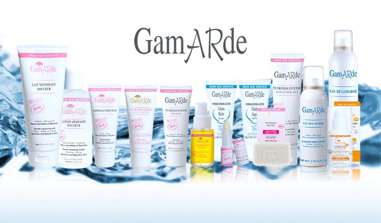 GAMARDE -天然由来100%のオーガニック化粧品-