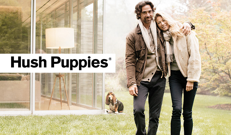 HUSH PUPPIES and more