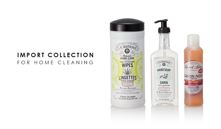 IMPORT COLLECTION FOR HOME CLEANING