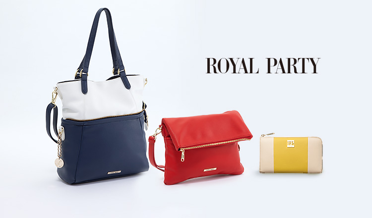 ROYAL PARTY BAG & SLG