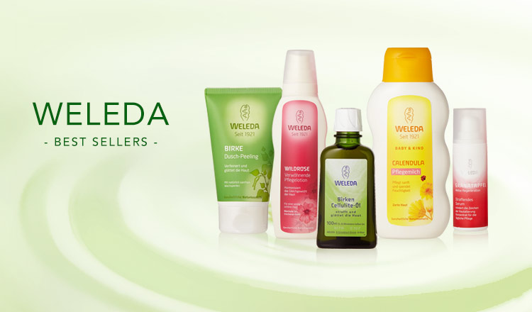 WELEDA - BEST SELLERS -