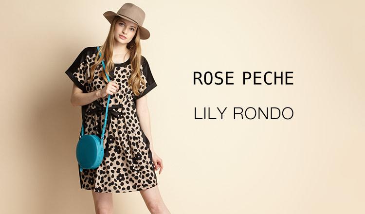 ROSE PECHE/LILY RONDO