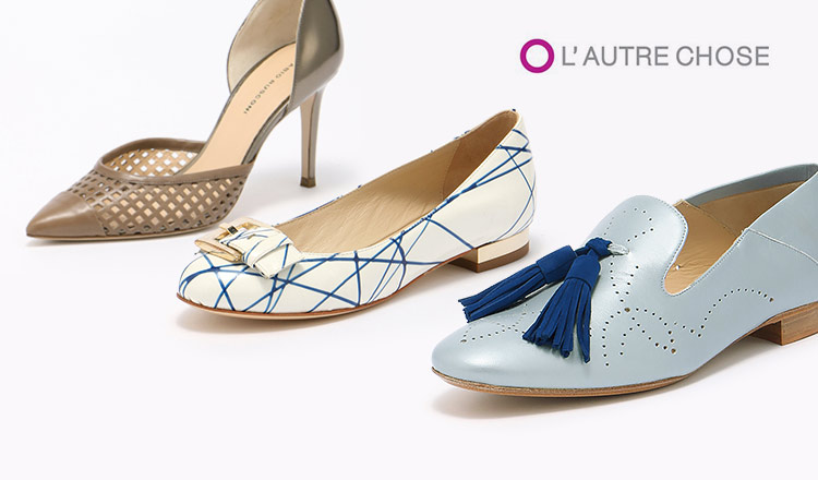 L'AUTRE CHOSE and import shoes selection