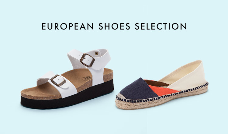 EUROPEAN SHOES SELECTION